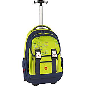 Школьный рюкзак на колесах Take It Easy Madrid Куб + дождевик
