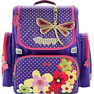 Ранец Mike Mar Стрекоза и Цветы 1074-ММ-151 + мешок для обуви + пенал в подарок